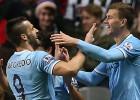 El City gana al Newcastle en la prórroga con gol de Negredo