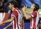 Raúl García y Filipe Luis en el once ideal de la Champions