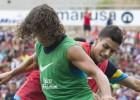 La pareja Puyol-Bartra gana enteros para jugar en Sevilla