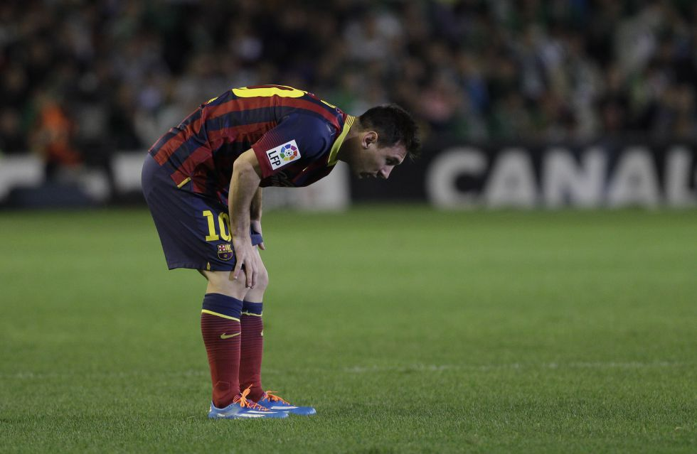 Leo Messi es baja hasta 2014 - AS.com
