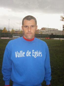 Pablo Orbaiz volverá a jugar el futbol en el CD Valle de Egüés