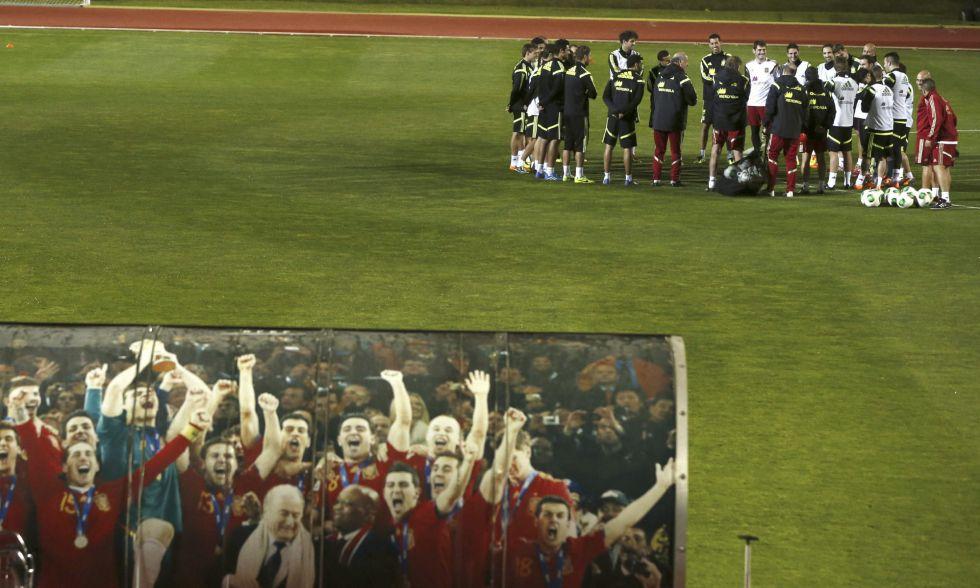 Del Bosque reservará al grueso de la Selección para Sudáfrica - AS.com