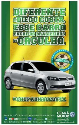 'A diferencia de Diego Costa, este coche enorgullece a Brasil'