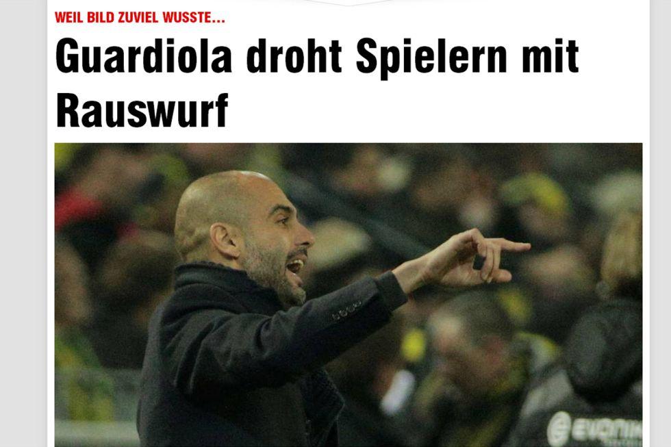 """Pep busca al topo del Bayern: """"El que siga filtrando se marcha"""""""