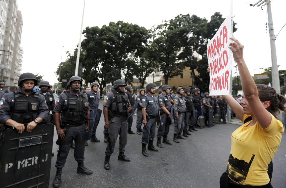 Brasil invertirá 223 millones en la seguridad del Mundial