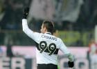 El gol 100 de Cassano en la Serie A da un punto al Parma