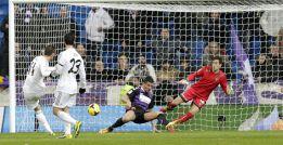 Bale ya lleva nueve goles en el Madrid: uno cada 93 minutos