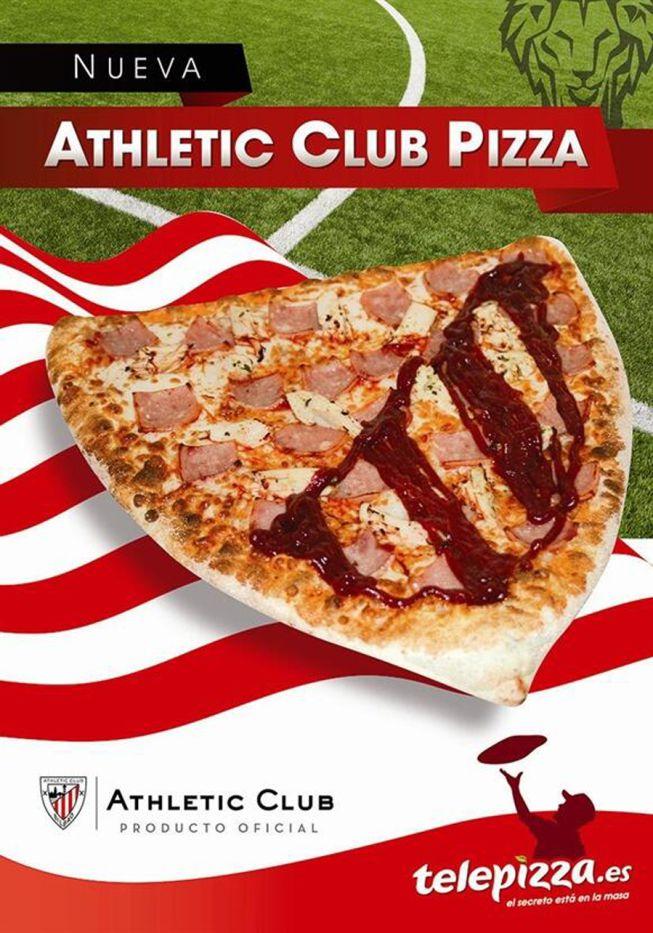 El Athletic tiene su propia pizza - AS.com