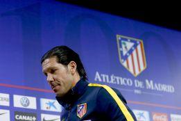 """Simeone: """"¿Que si es incómodo que el Atleti sea incómodo? Sí"""""""