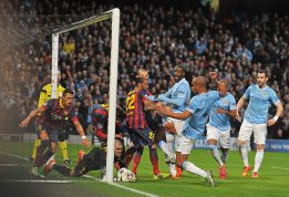 Casi 8 millones de espectadores vieron el City-Barcelona