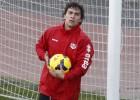 Seba Fernández se entrena con todo el grupo tras cinco meses
