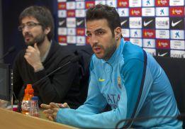 """Cesc: """"Confío en que el Atlético le gane el derbi al Madrid"""""""
