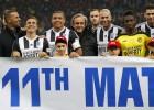 Ronaldo y Zidane lideran la goleada más solidaria