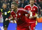 Las imágenes Bayern-Arsenal
