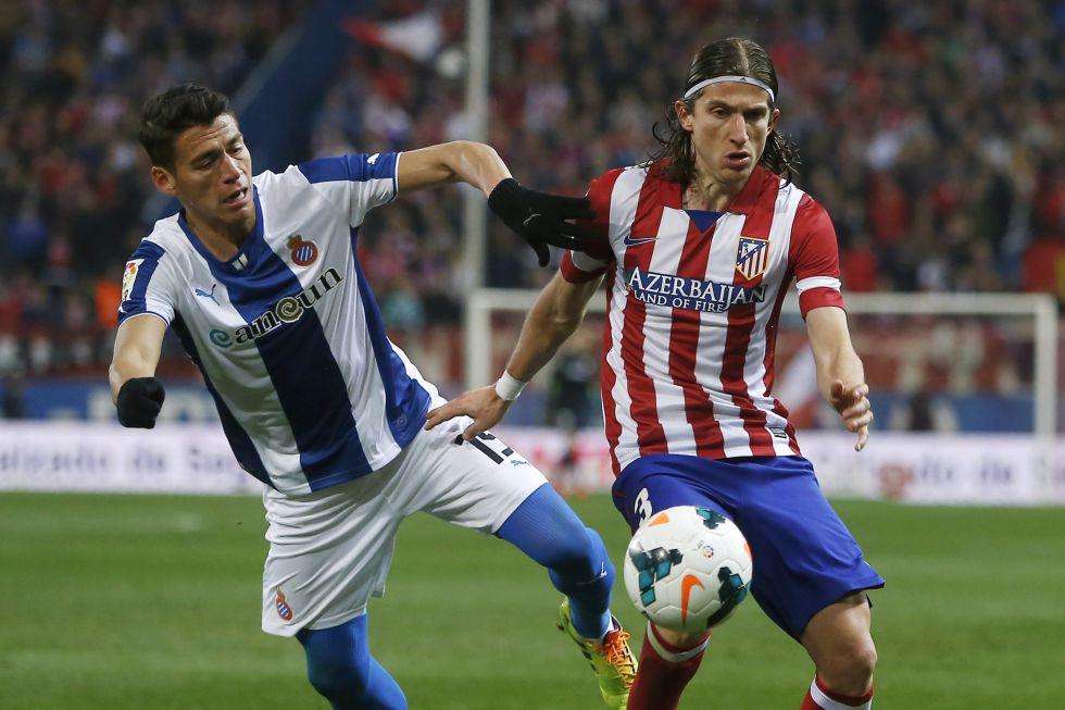 "Filipe Luis: ""Diego Costa me recuerda al mejor Agüero"""