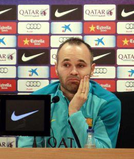"""Iniesta sobre Pep: """"Irse fue cosa suya; sin él ganamos la Liga"""""""