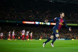 Messi le ha metido 20 goles al Atlético, más que a ningún otro