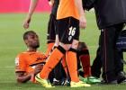 La lesión de Keita, en un susto: podría jugar ante el Getafe