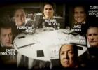 Cena con morbo: Radamel Falcao, Florentino, Begiristain...