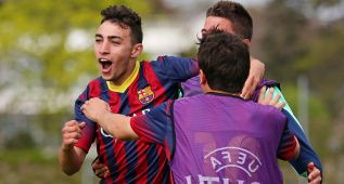 El Barça se cita con el Benfica en la final de la Youth League