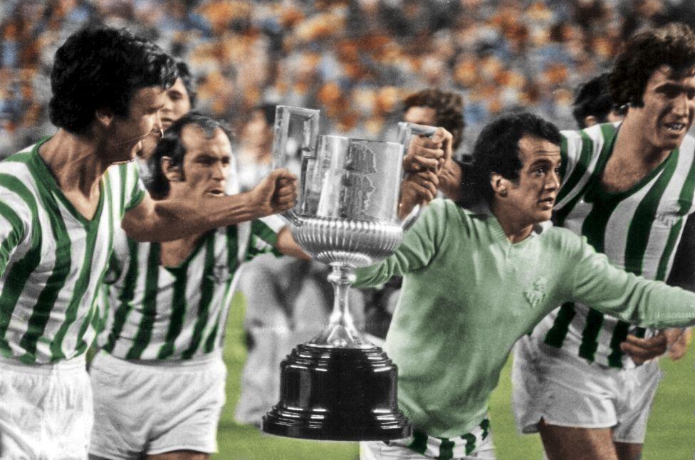Betis campeón de 1977.