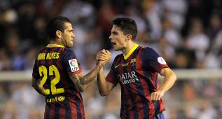 """Bartra: """"Han llegado dos veces y han marcado dos goles"""""""