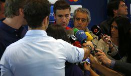 """Gabi: """"El Atlético está pudiendo con la presión y los halagos"""""""