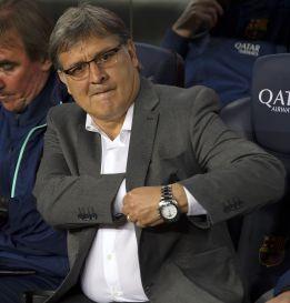 """Martino: """"Como Messi no habla, responde en el campo"""""""