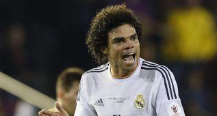 Pepe se perderá el primer partido de la Copa 2014/2015