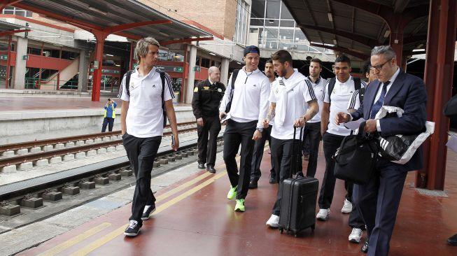 El Madrid, rumbo a Valladolid