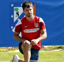 Diego Ribas sabe que su futuro está lejos del Atlético de Madrid