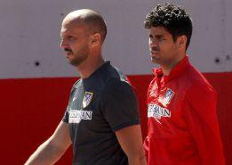 Diego Costa volvió de Belgrado y cree que podrá jugar la final