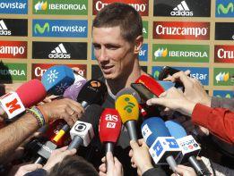 """Torres: """"Llevaba un año sin venir y deseaba escuchar mi nombre"""""""