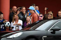 Cristiano llega lesionado a la concentración de Portugal