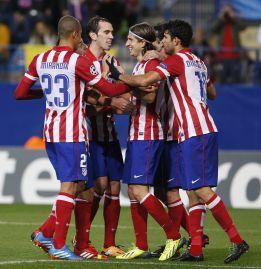 El Chelsea ofrece 100 'kilos' por Godín, Filipe Luis y Diego Costa