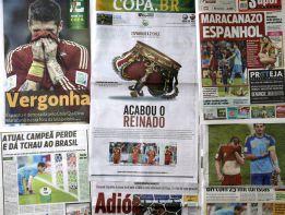 """La Prensa mundial sentenció a España: """"El tiqui-taca murió"""""""