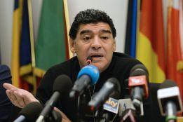 """Maradona canta tras el 7-1 """"Brasil, decime qué se 'siete'"""""""