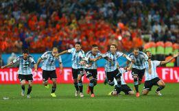 Argentina, éxtasis en los penaltis