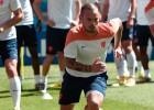 Sneijder no juega al lesionarse en el calentamiento