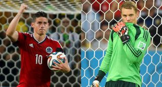 James, Bota de Oro; Neuer, mejor portero y Pogba, mejor joven
