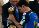 Messi, polémico Balón de Oro del Mundial de Brasil