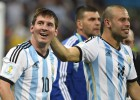 """Mascherano: """"Duelen las críticas a Messi porque son injustas"""""""