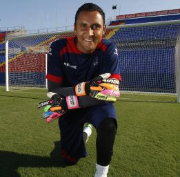 Keeper Keylor Navas will be the next to arrive at Real Madrid