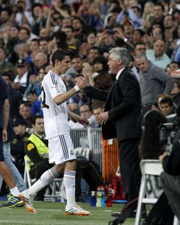 """Ancelotti: """"Di María has to be back at Valdebebas on 5 August"""""""