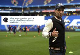 Falcao comienza a seguir en Instagram a Bale, Isco y Khedira