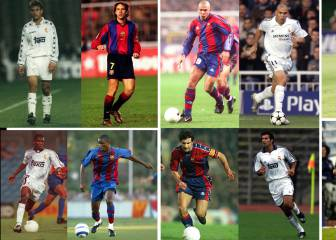 Barcelona and Real Madrid: Players who wore both shirts