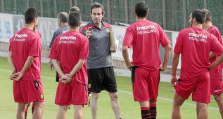 Engonga dirige su primer entrenamiento junto a Soler