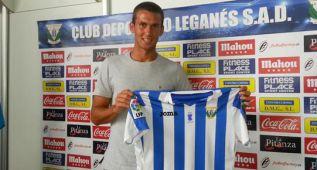 El defensa Carlos Delgado es nuevo jugador del Leganés