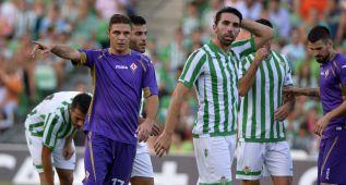 La Fiorentina se pasea ante un Betis desdibujado