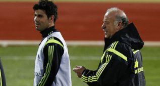 Del Bosque vigila a Diego Costa